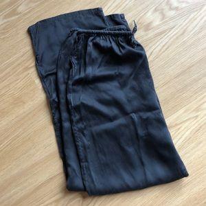Vintage VICTORIA'S SECRET Black Silk Sleep Pants S
